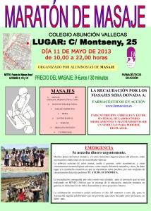Maraton de masajes Farmacéuticos en Acción