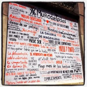 Esther Villanueva streetart en Tabacalera