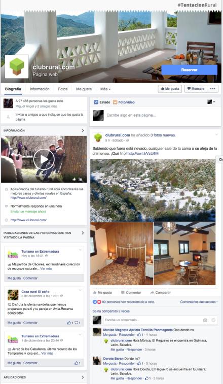 Clubrural Facebook